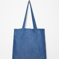 Chambray Shopper Tote