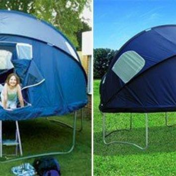 Trampoline tent = awesome