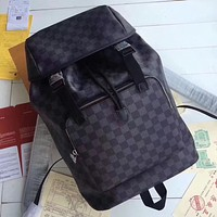 LV Louis Vuitton MEN'S DAMIER CANVAS ZACK BACKPACK BAG