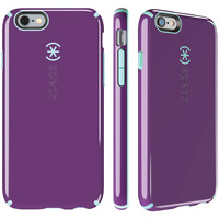 SPECK 73427-C256 iPhone(R) 6 Plus/6s Plus CandyShell(R) Case (Acai Purple/Aloe Green)