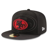 San Francisco 49ers New Era 59FIFTY NFL On Field Sideline Fitted Cap 5950 Hat