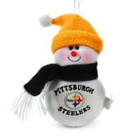 3 Christmas Ornaments - Pittsburgh Steelers