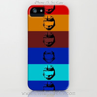 """Halo """"Red vs. Blue Team"""" iPhone iPod Samsung Galaxy S4/S5 CASE 5/5c/5s/4/4s/3G/3GS Video Game Gamer Xbox Microsoft Teal Gold Brown Blue Red"""