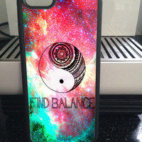 Find Balance Nebula Case for iPhone 6+/6/5c/5s/5/4s/4 And for Galaxy S5/S4/S3
