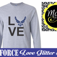 Air Force Love - you pick colors