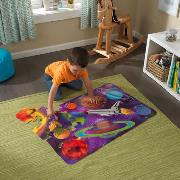 KidKraft Floor Puzzle – Outer Space - 63432