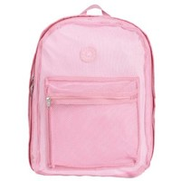 Pink Color K-Cliff Mesh Backpack for School Student/ Clear Backpack/ School Backpack