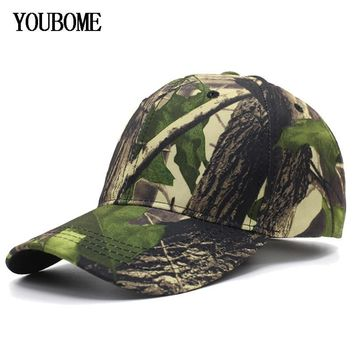 Trendy Winter Jacket YOUBOME Snapback Caps Women Hats For Men Baseball Cap Brand Trucker Hunting camouflage Casquette Bone Letter MaLe Dad Cap Hat AT_92_12