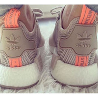 """Women """"Adidas"""" NMD Boost Casual Sports Shoes Beige"""