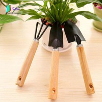 Gardening Three-piece Suit Plant Vegetables Flower Meat Tool Small Shovel Flower Tools Small Rake Shovel Potting Supplies S214P