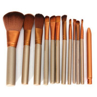 Mini Practical 12 Pcs Fiber Makeup Brushes Set