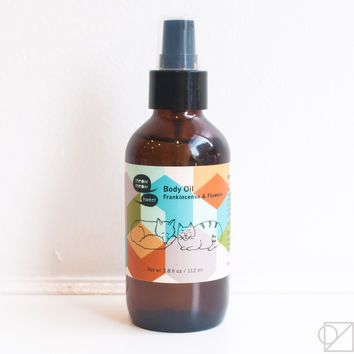 Meow Meow Tweet Frankincense + Flowers Body Oil