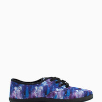 Marsden-01 Spaced Out Lace Up Sneaker