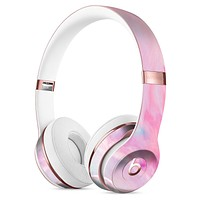 Marbleized Pink Paradise V5 Full-Body Skin Kit for the Beats by Dre Solo 3 Wireless Headphones