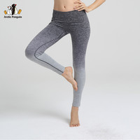 [AP] New Sport Leggings Fitness Women Gym Gradient Ramp Female Workout Yoga Pants Slim Elastic Running  Bodybuilding Clothes