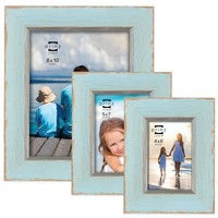 Prinz Clearwater Wood Picture Frame in Blue