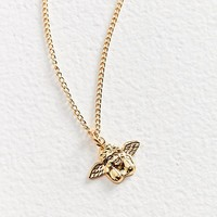 Vintage Fallen Angel Charm Necklace | Urban Outfitters