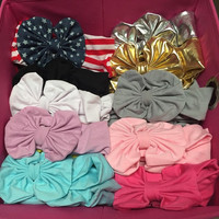 Messy Bow Headbands for Babies