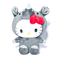 Sanrio Rhino Hello Kitty Plush Grey One