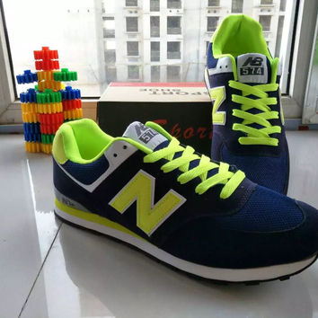 """""""New Balance"""" Fashion Casual All-match N Words Breathable Lover Sneakers Shoes"""