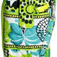 Vera Bradley Carry It All Wristlet in Lime's Up