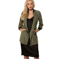 Olive Urban Mood Long Bomber