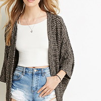 Textured Dolman Cardigan