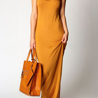 Orange Maxi Sundress