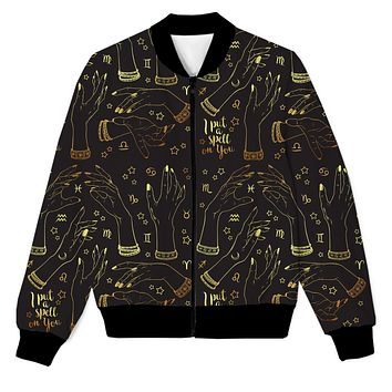 I Put A Spell On You - Mystery Realm Men's Zip Up Jacket