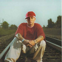 Eminem Railroad Tracks 2004 Poster 22x34