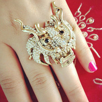 Pree Brulee - Fire Dragon Ring