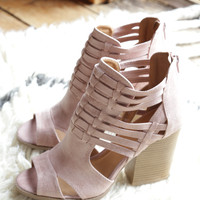 Barnes Strappy Heel, Blush
