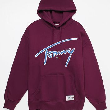 Tommy Jeans Signature Pullover Hoodie   PacSun