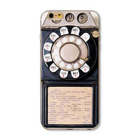 Retro Old School Pay Phone 3100 Painted Vivid Pattern Soft TPU Cover Case For Apple iPhone 6 6s 4.7inch