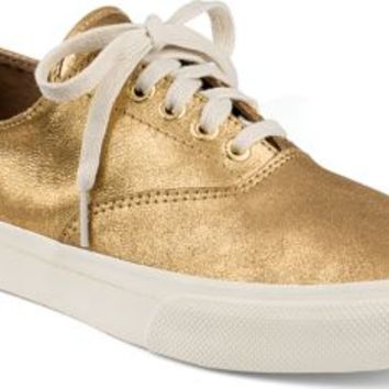Sperry Top-Sider CVO Sneaker by Jeffrey GoldMetallicLeather, Size 8M  Men's Shoes