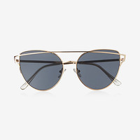 brow bar cateye sunglasses