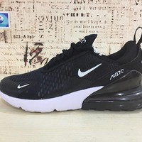 Nike Air Max 270 Black White Running Shoes - Best Deal Online