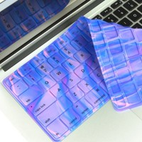 TopCase Polar Light Series Silicone Keyboard Cover Skin for Macbook