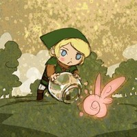 Hyrule FairyCatching by theGorgonist on Etsy