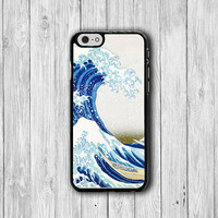 Japanese Sea Lion Abstract Japan iPhone Cases, Freedom Wave iPhone 6, iPhone 5S Cover Accessories Pocket Cell Phone iPhone 4S, iPhone 6 Plus