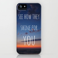 See how they Shine iPhone Case by Brandy Coleman Ford | Society6