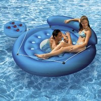 FPoolmaster rench Pocket Convertible Island Inflatable