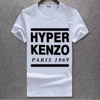 Kenzo Fashion Casual Shirt Top Tee-8