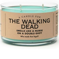 The Walking Dead Candle - Smells Like a Nurse on a Double Shift