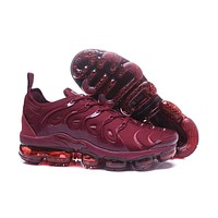 Air Vapormax Tn 2018 Plus Wine Red Sport Shoe 40 45