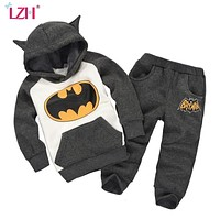 Children Clothing Autumn Winter Boys Clothes Batman Outfits Kids Clothes Easter Costume Sport Suit For Boys Clothing Sets
