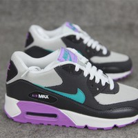 Nike Air Max 90 Women Sport Casual Multicolor Air Cushion Sneakers Running Shoes-6