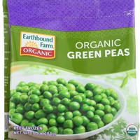 EARTHBOUND FARM: Organic Green Peas Sweet Tender and Delicious, 10 Oz