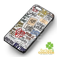 song collage Taylor s-1nay for iPhone 4/4S/5/5S/5C/6/ 6+,samsung S3/S4/S5,S6 Regular,S6 edge,samsung note 3/4