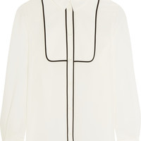 Boutique Moschino - Silk crepe de chine shirt